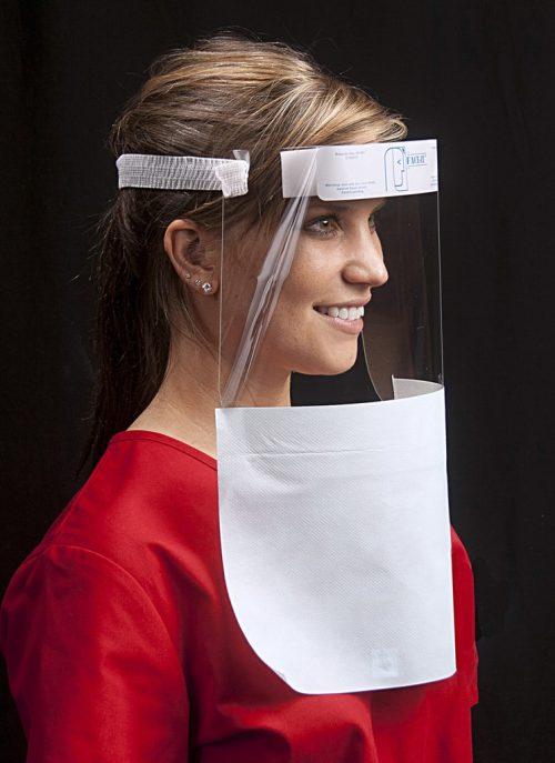 Face-it Shield 18000 open drape