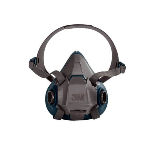3M 6500 series half mask respirator