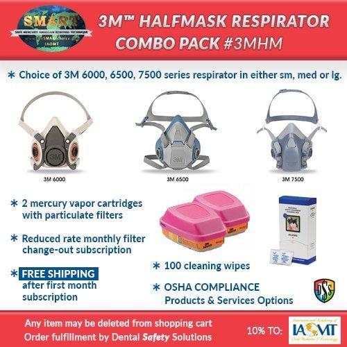 SMART respirator combo pack #3MHM