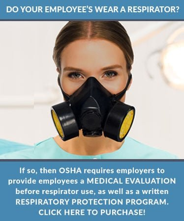 OSHA Respiratory Program Tall Ad