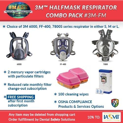 SMART respirator combo pack #3MFM