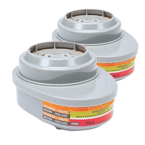MSA Advantage mercury filter 815368 pair