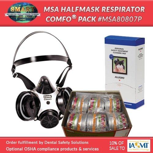 SMART respirator combo pack #MSA80807P