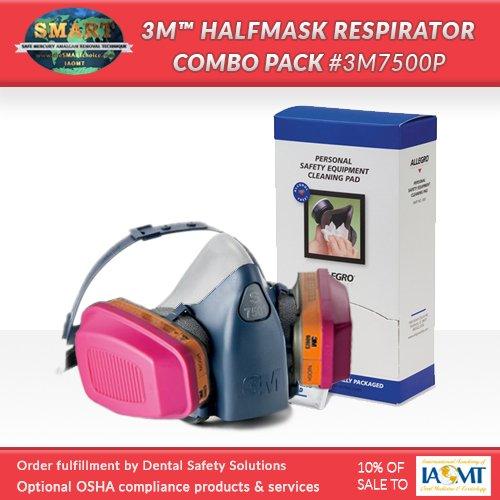 SMART Respirator Combo Pack #3M7500P