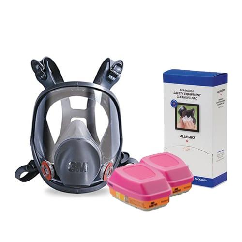 SMART Respirator Combo Pack #3M6000P